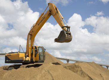 Repuestos para excavadoras
